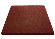 Резиновая плитка 500х500х30мм