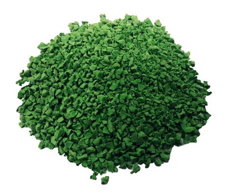 EPDM крошка Зеленый