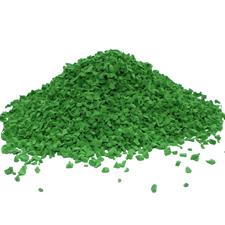 EPDM крошка зеленая