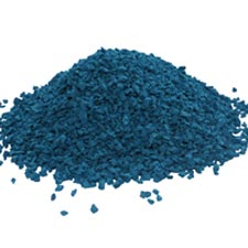 EPDM крошка синяя